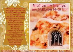 Stollen im Stollen - ein adventlicher Nachmittag @ Heilstollen Marsberg | Marsberg | Nordrhein-Westfalen | Deutschland